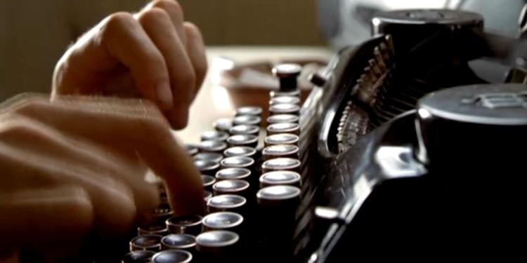 maquina de escribir hoja de vida